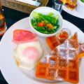写真: カフェテラス トリコロール cafe terrace Tricolore ワッフルモーニング 広島市中区基町 そごう広島店4F