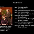 RLDS Firsts