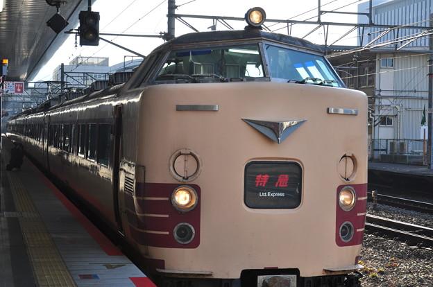 京都駅にて、特急