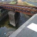 Photos: 枕木17本分な橋。