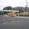 7022都電ワンマン色、飛鳥山交差点。