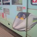 【函館市電のラッピング】西日本の100系塗装の400系??