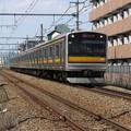 Photos: 205系先頭車化改造車。@南武線登戸駅~中野島駅