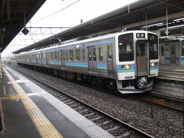 中央本線で今後増える予定の211系@中央本線塩尻駅