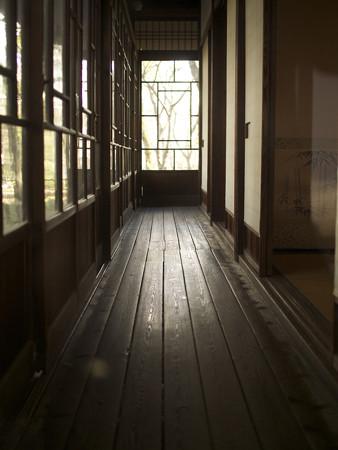 梅花書屋廊下