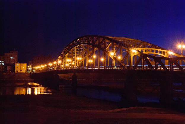 夜明けの旭橋