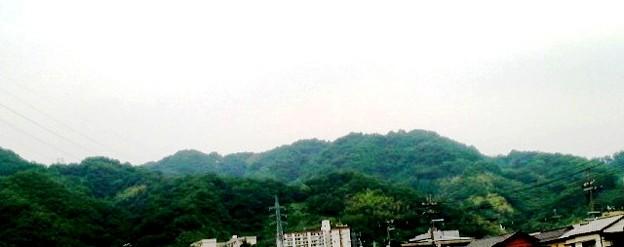 Photos: 高安山・恩智川畔より