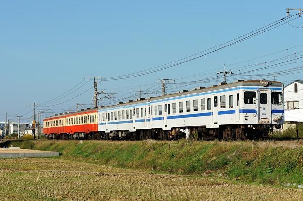 キハ20(国鉄色+水島色)3