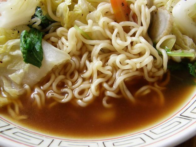 AKAGI 醤油ラーメン 麺&スープ