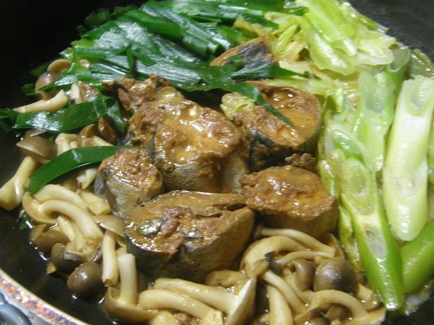 「鯖の味噌煮缶詰」でマイクック!