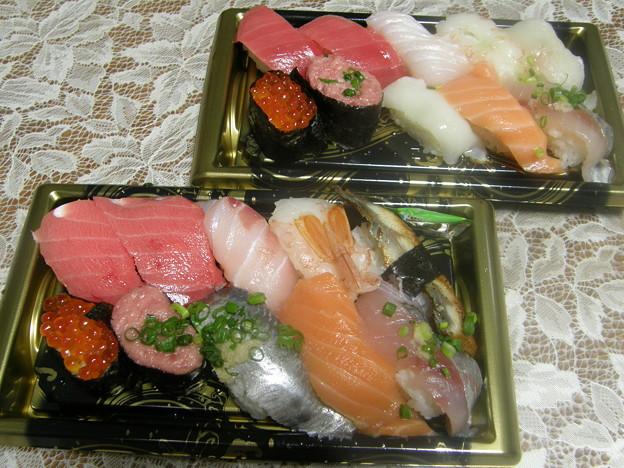 握り寿司 10貫 by 角上魚類