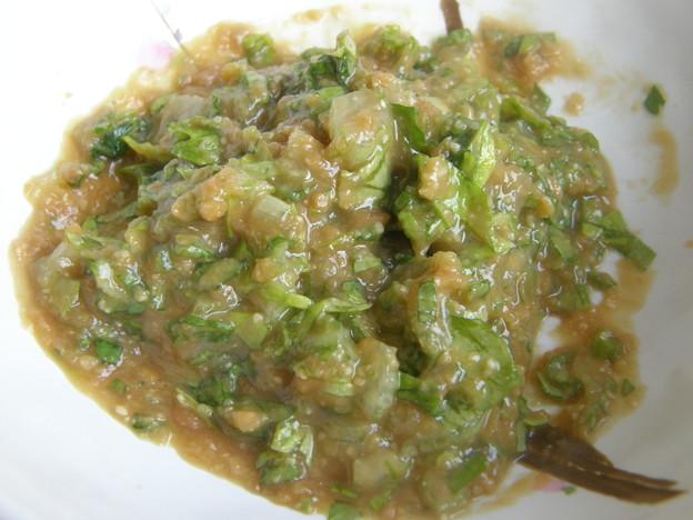 セロリ塩麹味噌ディップ