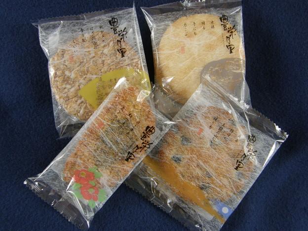 瑞穂にしき・・・4種の煎餅