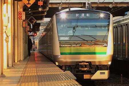横浜線E233系 試運転