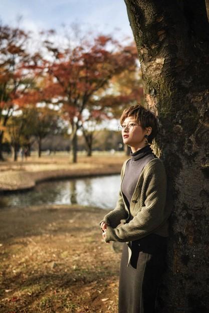 秋の待ち合わせ