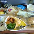 Photos: ドバイ→チュニス・特別食(bland meal)