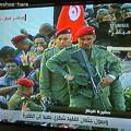 Photos: 棺桶を警護する軍人たち