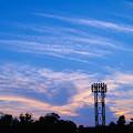 写真: 本牧三溪園の野球場