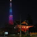 イブの東京タワー