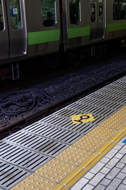 品川駅のホーム