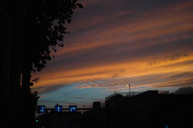 神奈川区の夕焼け(1)