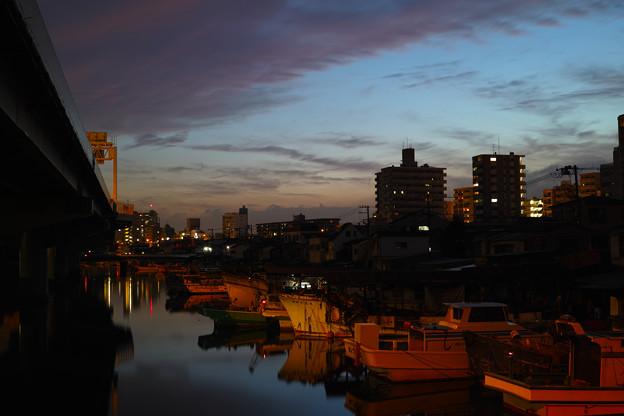 神奈川区の夕焼け(4)