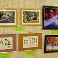Photos: 小学校の展覧会(黒鯛ちゃんの野鳥写真2点)