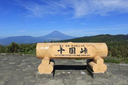 03十国峠より富士を見る
