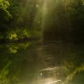 夕陽の幾秒
