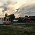 写真: オオツカ-ユウグレ-ヤマガタテツドウ