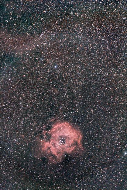 光害地で撮るシリーズ No.2 - バラ星雲