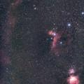 Photos: 光害地で撮るシリーズ No.3 - バーナードループ~三ツ星~小三つ星