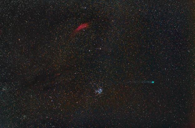 光害地で撮る天体シリーズ No.5 - ラブジョイ彗星(C/2014Q2,2015.01.20)