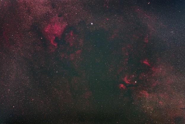 光害地で撮るシリーズ No.5 - 北アメリカ星雲~サドル付近