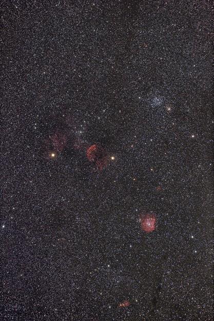 M35・クラゲ星雲・モンキー星雲