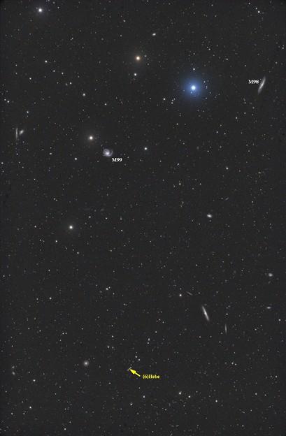 小惑星と銀河団