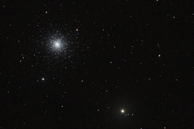 球状星団 M3・銀河 NGC5263