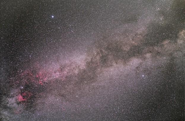 オルゴール赤道儀で撮る天体 ― 夏の大三角