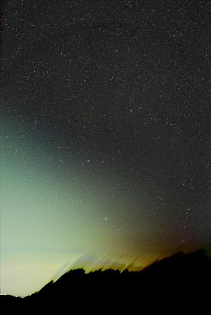 夜明けに昇るみずがめ・みなみのうお(パンスターズ彗星 C/2013 X1とらせん星雲の接近)