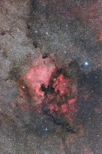 北アメリカ星雲・ペリカン星雲