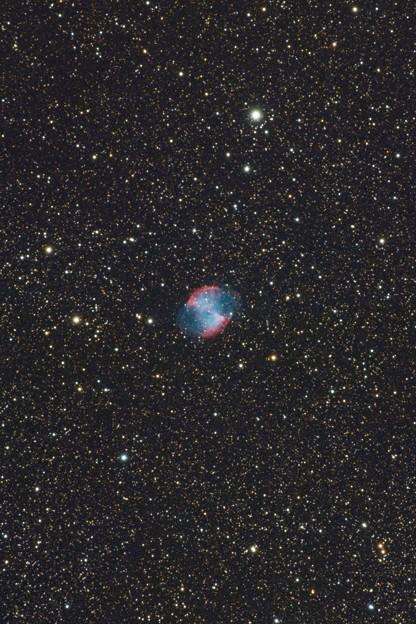 光害地で撮るシリーズNo.10 - M27 あれい状星雲