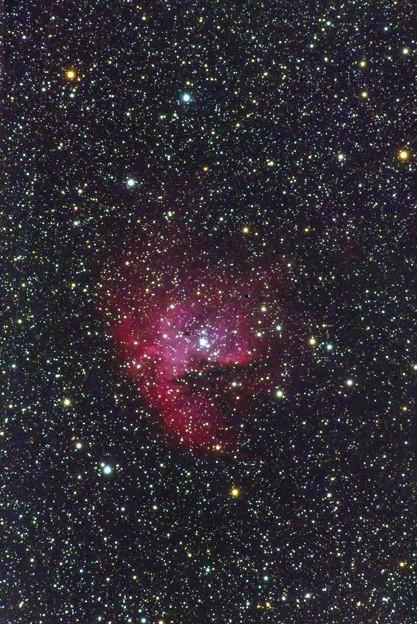 光害地で撮るシリーズNo.11 - NGC281 パックマン星雲