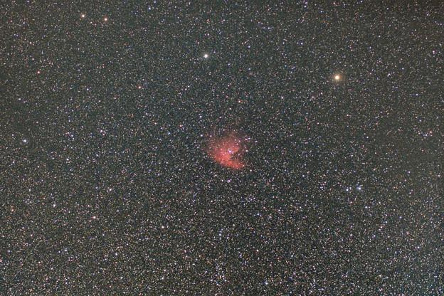 街角 固定撮影-パックマン星雲(NGC281)