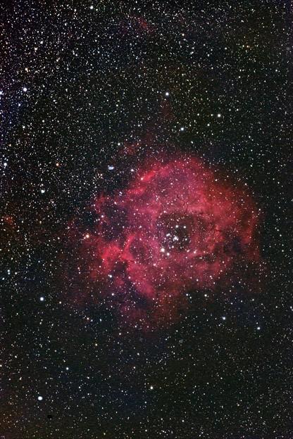 光害地で撮るリーズNo.12 - バラ星雲