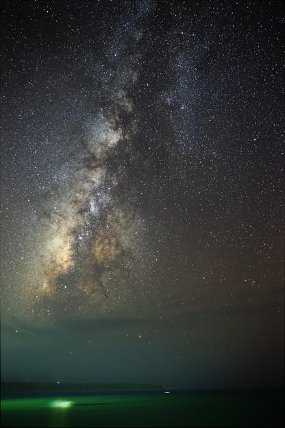 写真: 海と銀河と ≪固定撮影復刻版≫
