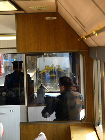 485系「宴」車窓48