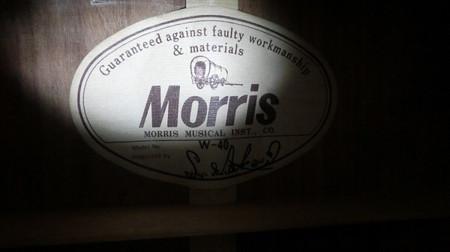 MORRIS W−40(6)