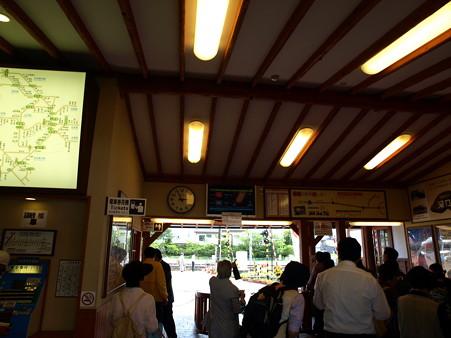 河口湖駅にて(2)
