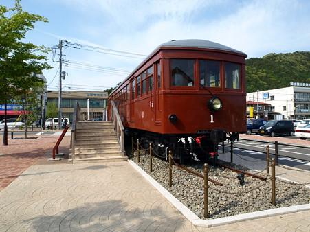 河口湖駅にて(4)