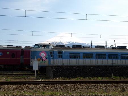 河口湖駅にて(7)